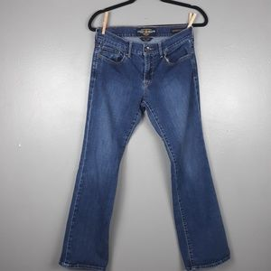 Lucky Brand sweet n low jeans medium wash size 4
